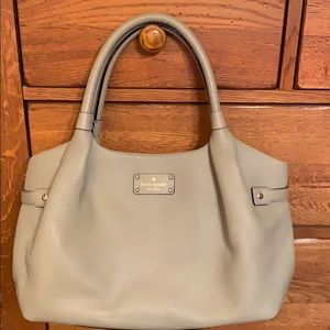 🌷Kate Spade ♠️ Stevie NWOT Taupe pebbled leather.